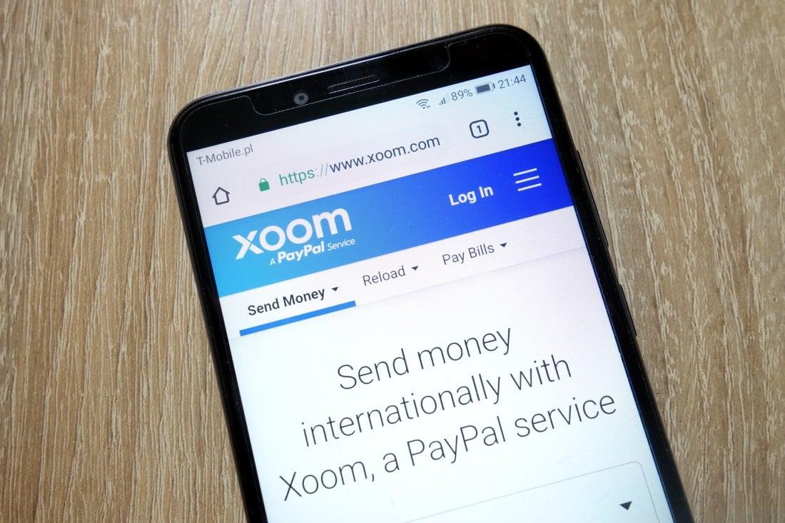 Xoom money transfer limits