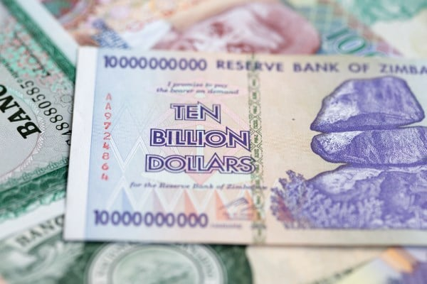 Send money to Zimbabwe Dollar