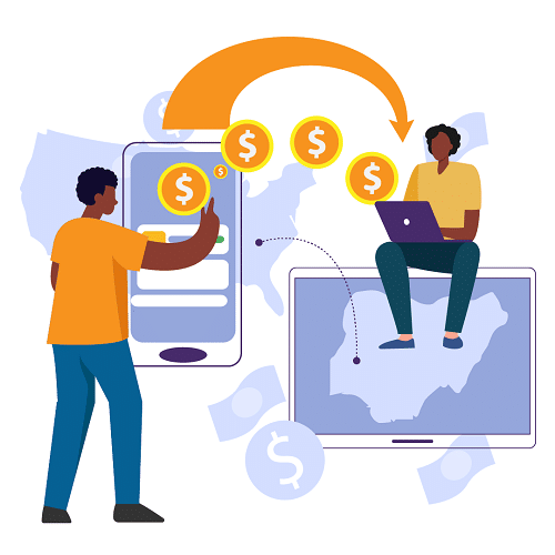send money to Africa to pay a freelancer